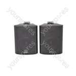 "BC Series Stereo Background Speakers - BC4-B 4"" speaker, Black"