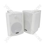 "BC Series Stereo Background Speakers - BC5-W 5.25"" speaker, White"