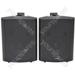 "BC Series Stereo Background Speakers - BC8-B 8"" speaker, Black"