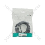 USB 2.0 Type A Plug to Type A Socket Leads - 5.0m