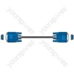 VGA plug to plug lead 5.0m