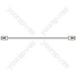 RJ11 modular plug to plug lead, 10.0m, White