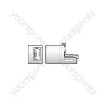 RJ11 to UK Telephone Socket Adaptor - BT431A