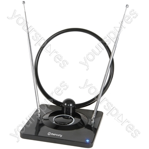 Indoor Amplified TV Aerial - antenna - ST28C