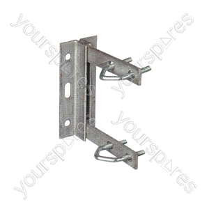 "6"" Wall Bracket + V Bolts"