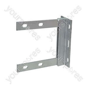 6 x 6 inch galvanised wall bracket- bulk