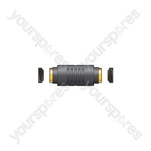 HDMI Coupler Socket to Socket - coupler, socket
