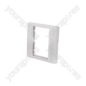 Modules Wallplate - Single gang frame