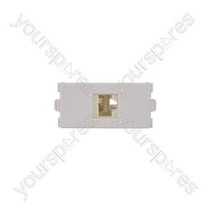 Wallplate Module - Cat5e RJ45 Socket - Modules modules