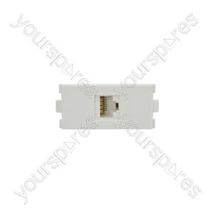 Wallplate Module - Cat6 RJ45 Socket - Modules modules