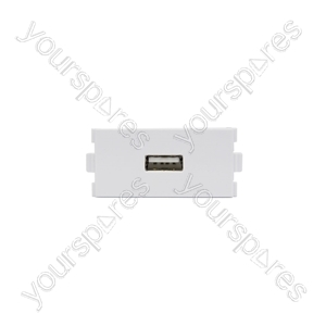 Wallplate Module - USB Socket - Modules modules