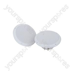 "OD Series Water Resistant Speakers - OD5-W8 speaker, 13cm (5""), 80W max, 8 ohms, White"