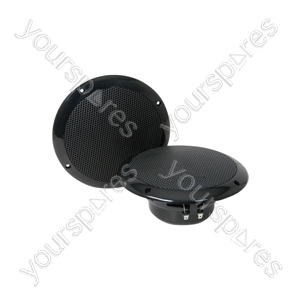 "OD Series Water Resistant Speakers - OD6-B8 speaker, 16.5cm (6.5""), 100W max, 8 ohms, Black"