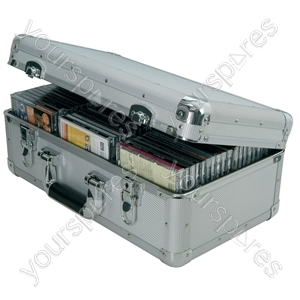 Aluminium CD Flight Cases - case, 60 CDs - CDA:60