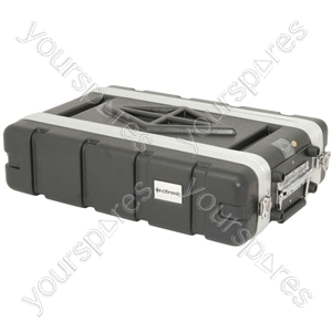 "ABS 19"" Shallow Rack Cases - - 2U - ABS2US"