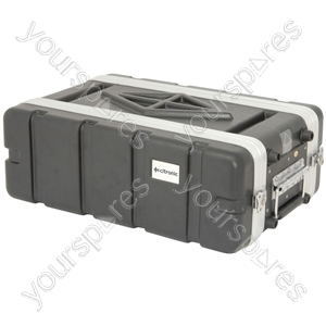 "ABS 19"" Shallow Rack Cases - - 3U - ABS3US"