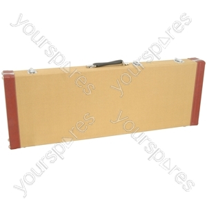Tweed Style Guitar Cases - electric case: 2-tone - TEC-2T