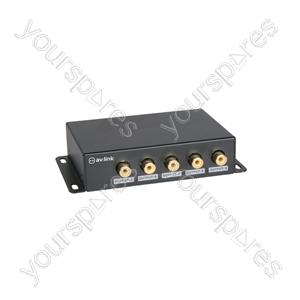 9 Way Composite Video Distribution Amplifier - 1:9 - AD-COM19