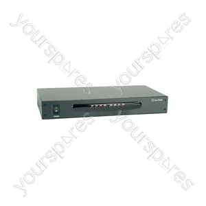 8 Way A/V Distribution Amplifier - 8-Way - AD-AV18