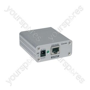 CAT 5 VGA/Audio Transmitter