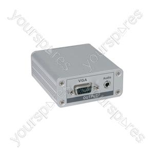 CAT 5 VGA/Audio Receiver
