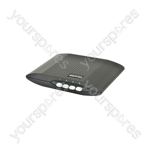 HDMI Manual Switching Boxes - Box, 4 Inputs : 1 Output - HD41