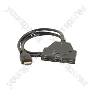 3 x 1 HDMI Switcher - Mini - HD31M