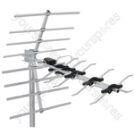 High Gain 32 Element Wideband UHF Aerial - UHF-D32SS