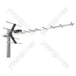 12 Element Digital Aerial LTE/4G Protected - UHF