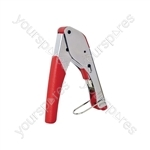 Snap seal pocket crimp tool- blister