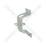 Caravan bracket with clamp- bulk