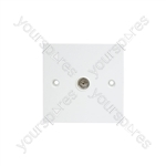 TV Coaxial Wallplate