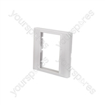 Modules Wallplate - Single gang frame