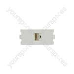 Modules Wallplate - Cat6 RJ45 modules