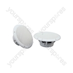 "OD Series Water Resistant Speakers - OD6-W4 speaker, 16.5cm (6.5""), 100W max, 4 ohms, White"
