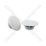 "OD Series Water Resistant Speakers - OD6-W4 speaker, 16.5cm (6.5""), 100W max, 4 ohms, White"