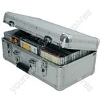 Aluminium CD Flight Cases - case, 60 CDs - CDA:60