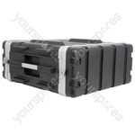 "ABS 19"" Equipment Rack Cases - - 4U - ABS:4U"