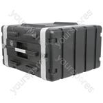 "ABS 19"" Equipment Rack Cases - - 6U - ABS:6U"