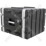 "ABS 19"" Equipment Rack Cases - - 8U - ABS:8U"