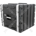 "ABS 19"" Equipment Rack Cases - - 10U - ABS:10U"