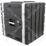 "ABS 19"" Equipment Rack Cases - - 12U - ABS:12U"