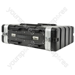 "ABS 19"" Equipment Rack Cases - - 3U - ABS:3U"