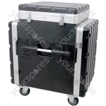 "Tilt-top 19"" PA Rack Case - ABS:PA"