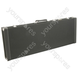 Tweed Style Guitar Cases - electric case: Black - TEC-1B