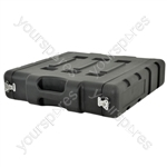 "19"" 2U LLDPE Rack Case"