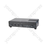 4 Way Loudspeaker Selector - Protected louspeaker switcher - AD-SPK14