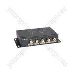 9 Way Composite Video Distribution Amplifier - 1:9 - AD-COM19
