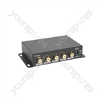 AD-COM14 4 Way Composite Video Distribution Amplifier - 4-Way