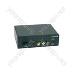 AD-AV14 4 Way A/V Distribution Amplifier - 4-Way